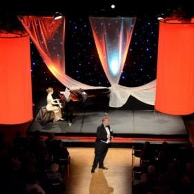 on stage iV